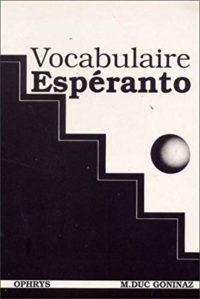 Vocabulaire esperanto