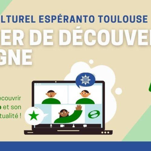 Atelier de découverte de l'espéranto [en ligne]
